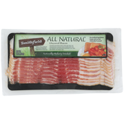 Smithfield All Natural Uncured Hickory Smoked Bacon, 12 oz