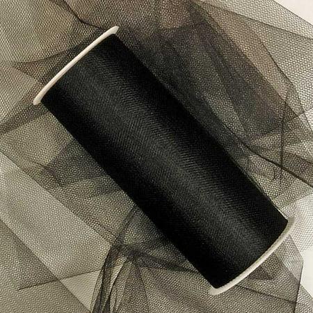 Black Bulk Tulle 12