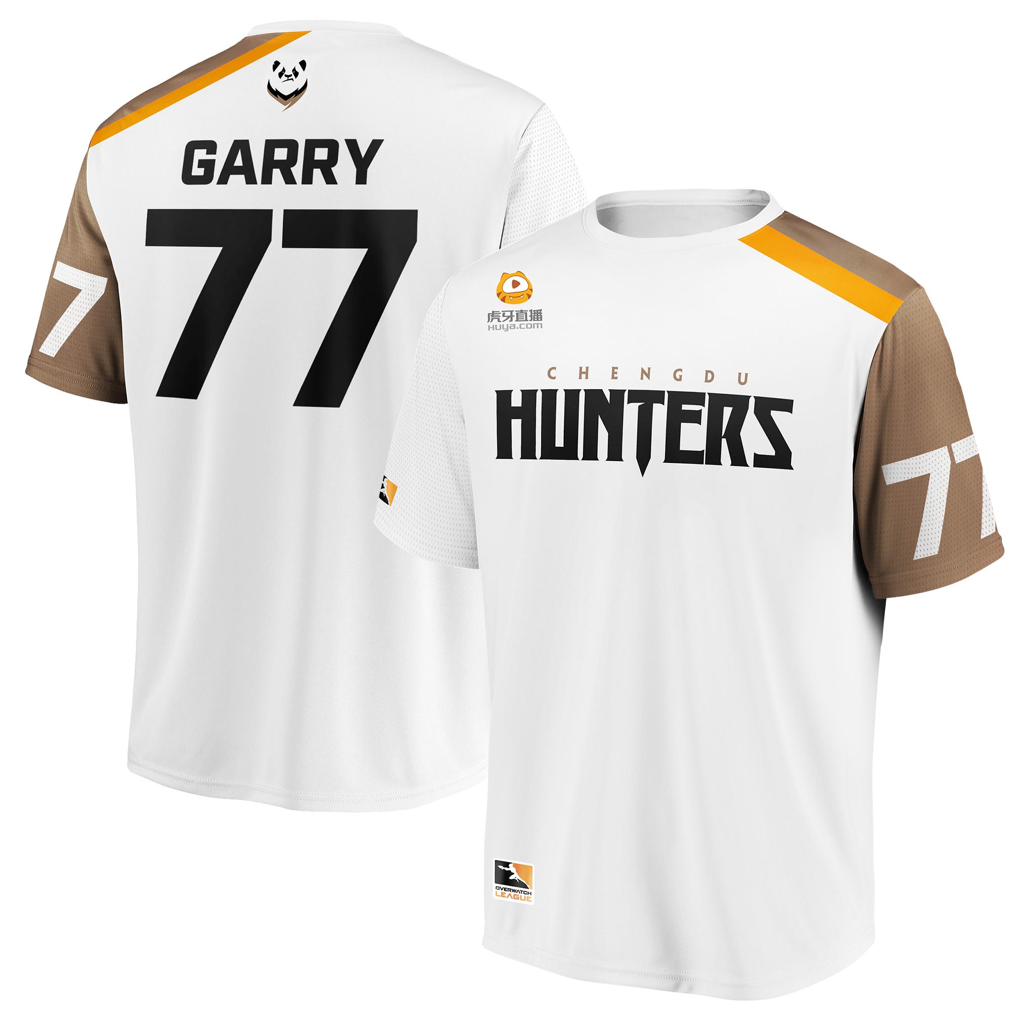 Garry Chengdu Hunters Overwatch League Replica Away Jersey - White