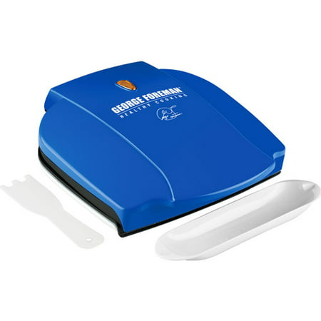 George Foreman 36 Quot Grill And Sandwich Maker Blue Morpho