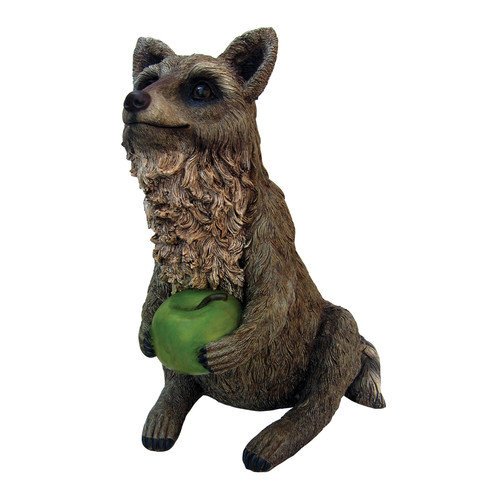 Michael Carr Raccoon Statue