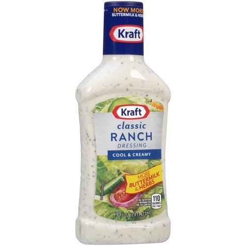 Kraft Classic Ranch Dressing, 16 fl oz