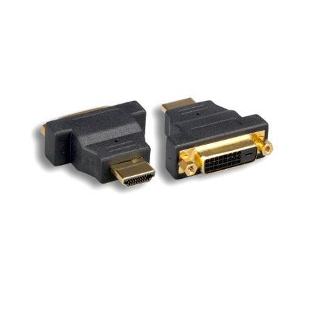 Kentek HDMI Male to DVI-D Digital Dual Link Female M/F Adapter Connector with Screws LED LCD HDTV Monitor 1080P