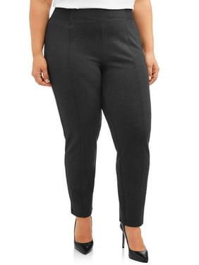 Women's Plus Size Terra & Sky Ponte Pant