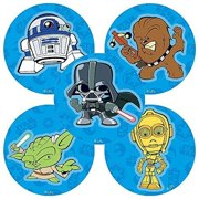 Star Wars Pop Stickers - Birthday Party Supplies & Favors - 75 per Pack