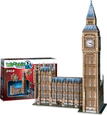Wrebbit 3D: Big Ben & Parliament, England Foam Puzzle (890pcs) by