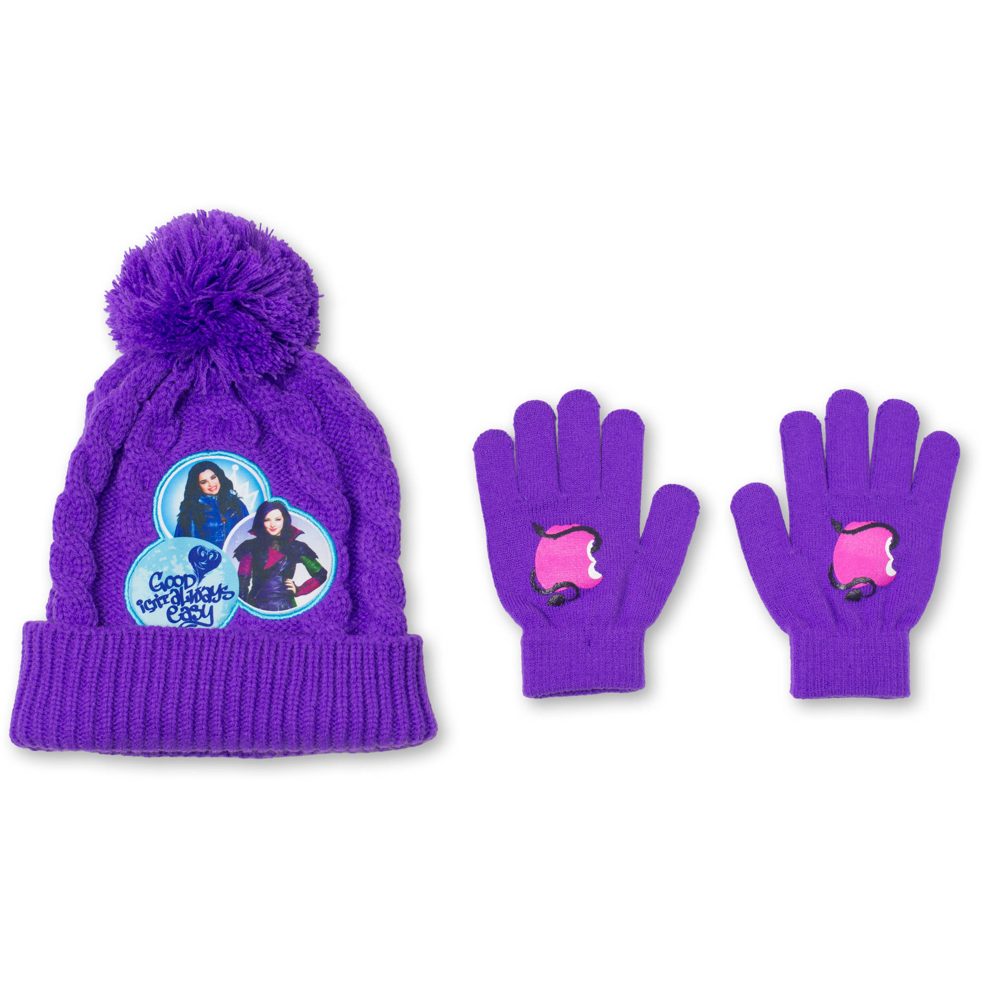 Descendants  Hat And Glove 2Pc Set