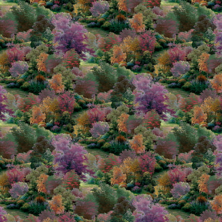 David Textiles Thomas Kinkade Spring Landscape 44