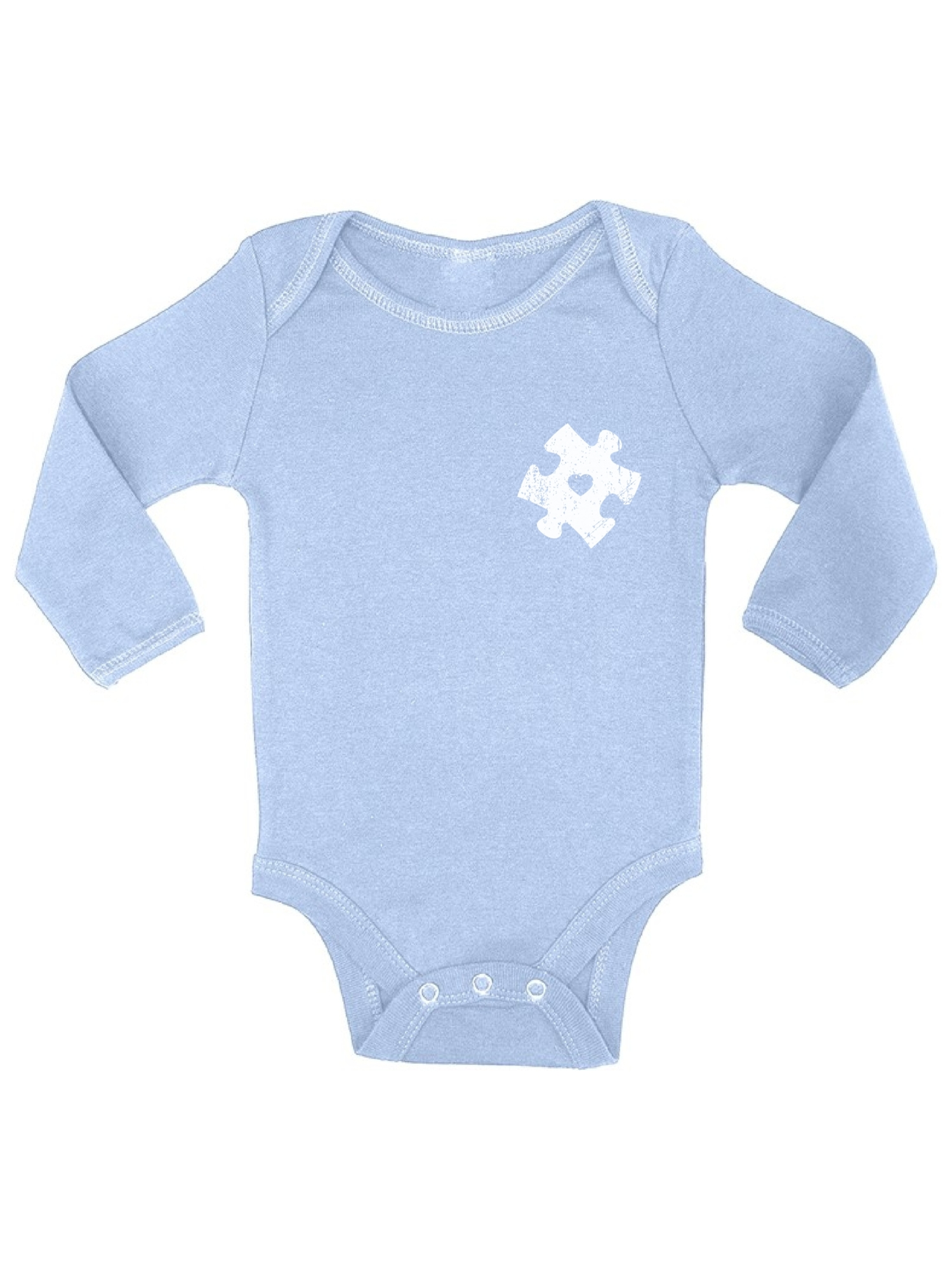 Autism Dad Awareness Newborn Unisex Baby Short-Sleeve Organic Cotton Bodysuit Rompers Outfits One-Piece