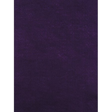 CPE Acrylic Washable Decorator Felt Assortment, 9 x 12 in, Purple, Pack of 25 - Decorator Fabric