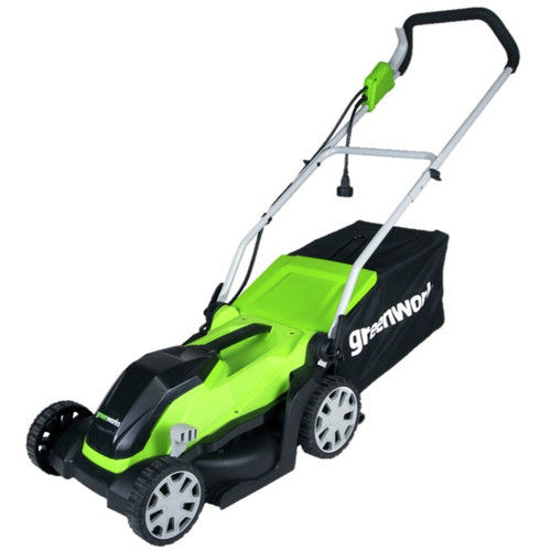 "Greenworks 9 Amp 14"" Corded Lawn Mower 2507402 by Sunrise Global Marketing, LLC"