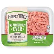 Honeysuckle White Honest Ground Turkey Breast, 99% Fat Free, 16 oz