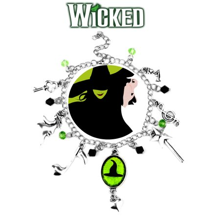 Wicked Charm Bracelet Musical Theatrical Jewelry Series Multi Charms - Wristlet - Superheroes Brand Theatre Collection
