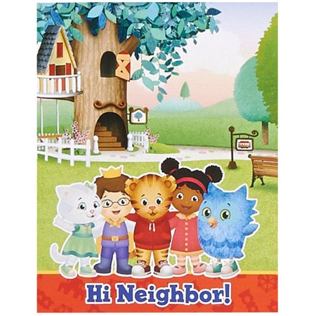 Daniel Tiger'S Neighborhood Party Supplies 16 Pack Invitations