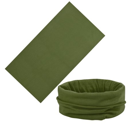 Multiuse Unisex Outdoor Scarf Tube Magic Outdoor Bandanas Snood Headwear (Tube Bandanas)