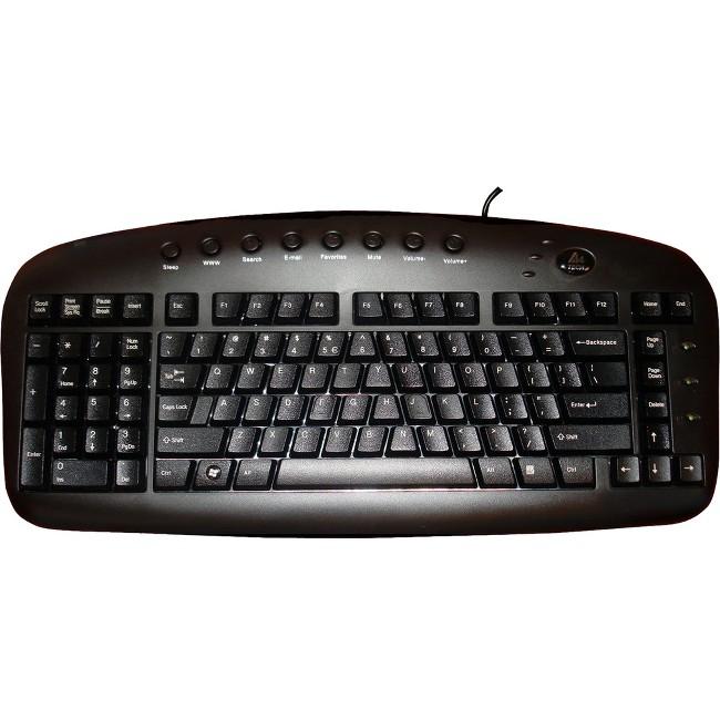 Ergoguys Left-Handed USB Ergonomic Keyboard Wired