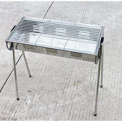 AGPtek Protable Barbecue Stainless Steel Grill Hotspot BBQ Charcoal Grill  Charcoal Table For Outdoor Camping