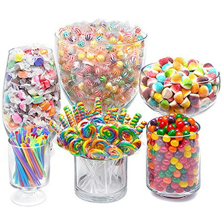 CandyWarehouse Rainbow Candy Kit - Party Candy Buffet Table