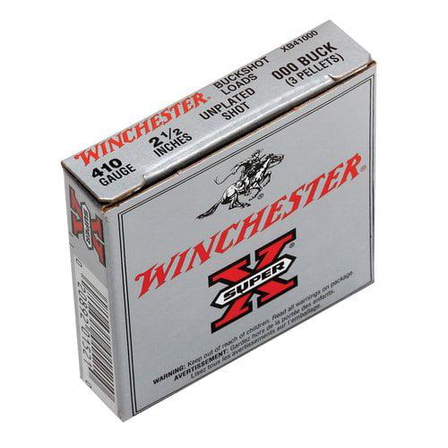 Winchester SuperX .410 #000 Buckshot