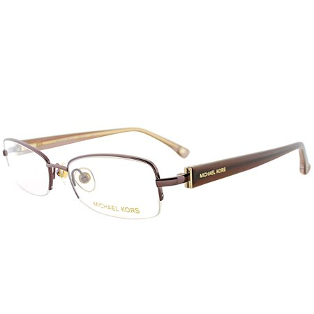 313fc09b3d96 Michael Kors MK312 210 50mm Women's Semi-Rimless Eyeglasses - Walmart.com