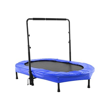 Ancheer Mini Rebounder Trampoline with Adjustable Handle for Two Kids, Parent-Child (Best Deals On Trampolines)