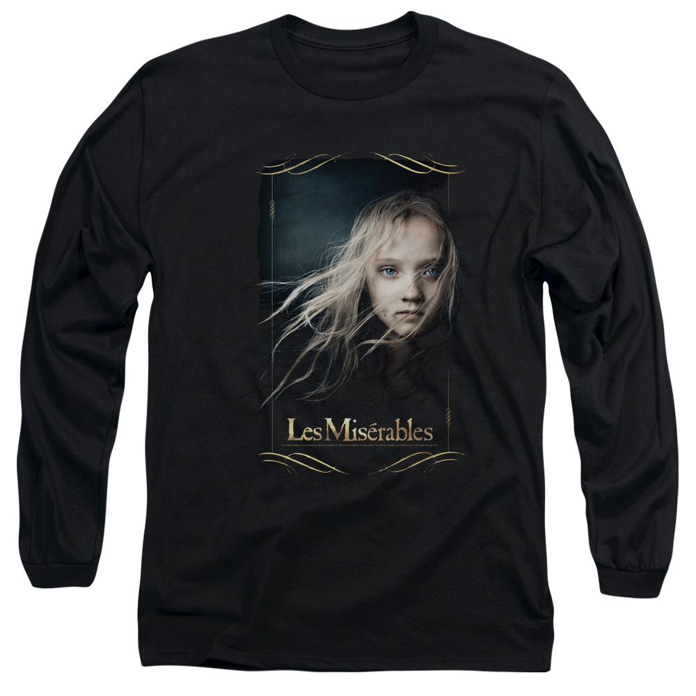 Les Miserables Cosette Mens Long Sleeve Shirt