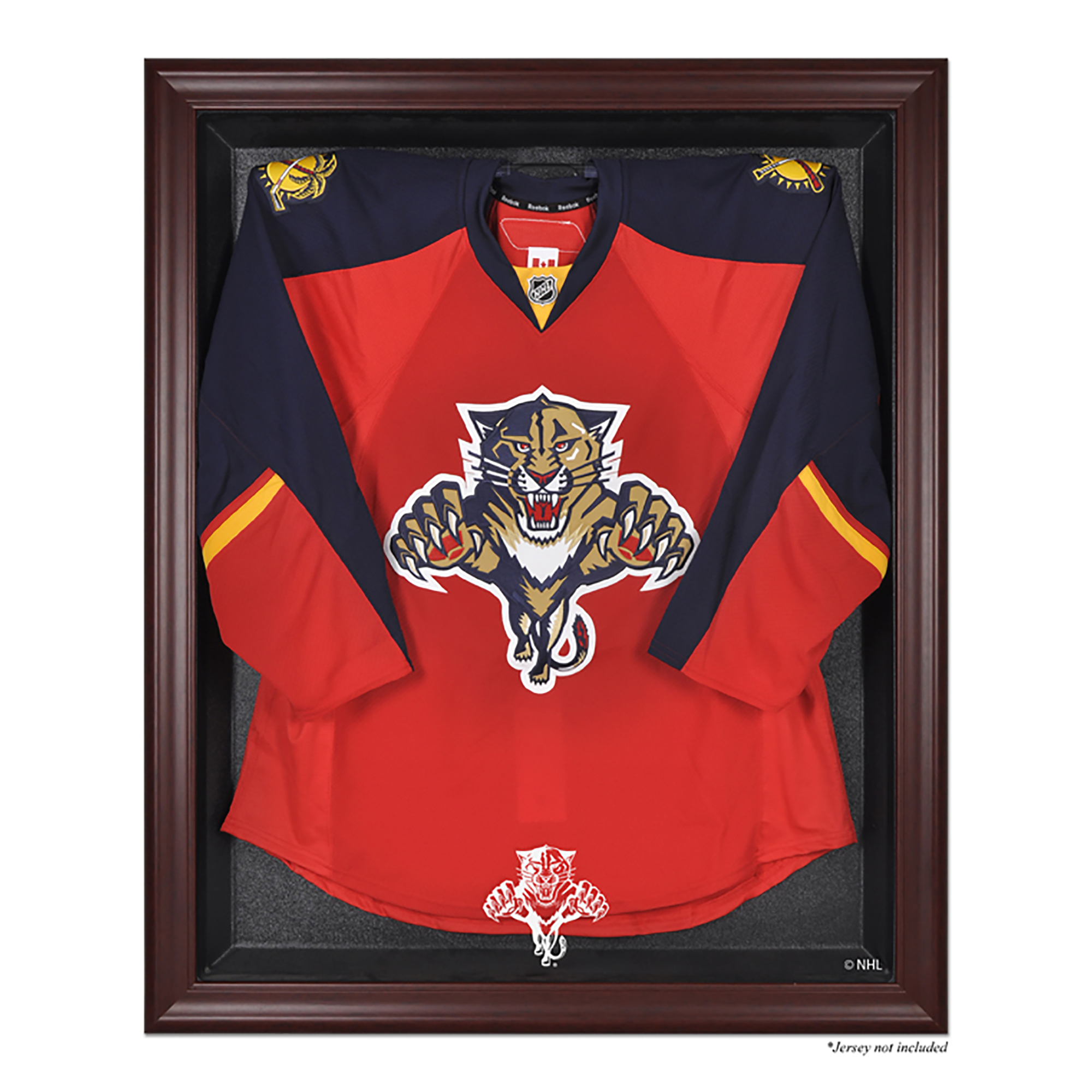 Florida Panthers Fanatics Authentic (1993-2016) Mahogany Framed Logo Jersey Display Case - No Size