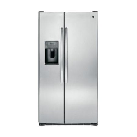 GSS25GSHSS 36 Side-By-Side Refrigerator with 25.4 cu. ft. Total Capacity Integrated Shelf Support System Arctica Icemaker Adjustable Door Bins and Door Storage in Stainless Steel GEs 254 cubic feet side-by-side refrigerator will be the perfect addition to your kitchen appliances This side-by-side refrigerator features integrated shelf support system which provides strong and flexible support The adjustable slide-out spill pro. - For more details contact us.