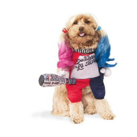Suicide Squad Harley Quinn Pet Halloween Costume - Harley Quinn Costume Accessories