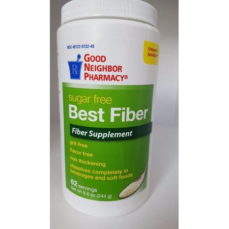 Gnp Best Fiber Sugar Free 62 dose Powder 8.6oz