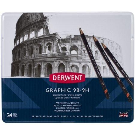 Derwent Colour Collection (Derwent Graphite Pencils W/Tin)