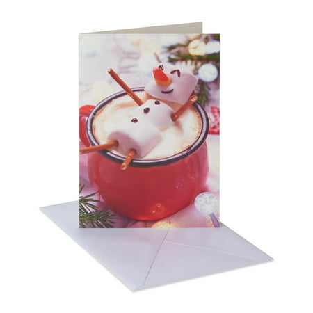 American Greetings Marshmallow Man Holiday Boxed Cards and Envelopes, 14ct