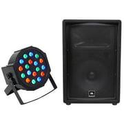 """JBL Pro JRX212 12"""" 1000 Watt Pro Passive PA/DJ Speaker 8 Ohm JRX 212+Wash Light"""