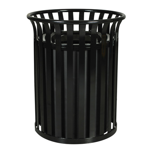 Ex-Cell Streetscape Receptacle 35.5 Gallon Trash Can