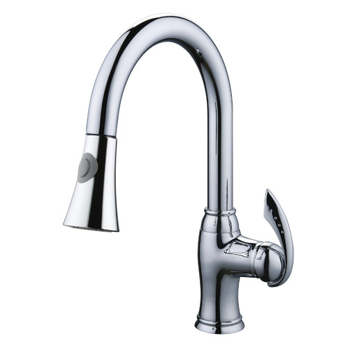 Yosemite YP28CKPO Single Handle Pull Down Kitchen Faucet
