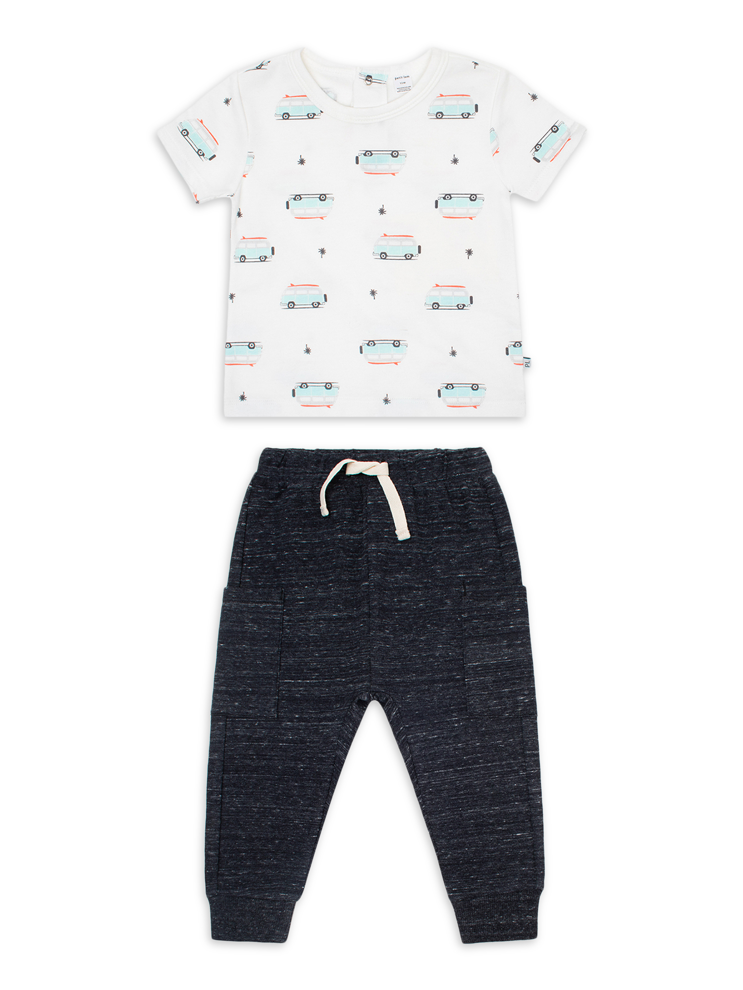 Salt /& Pepper Baby Boys B T-Shirt L Farm Stripe