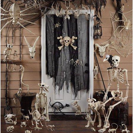 Frog Skeleton Halloween Decoration