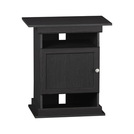 Home Aquarium Tanks - Ameriwood Home Flipper 10/20 Gallon Aquarium Stand, Black Oak