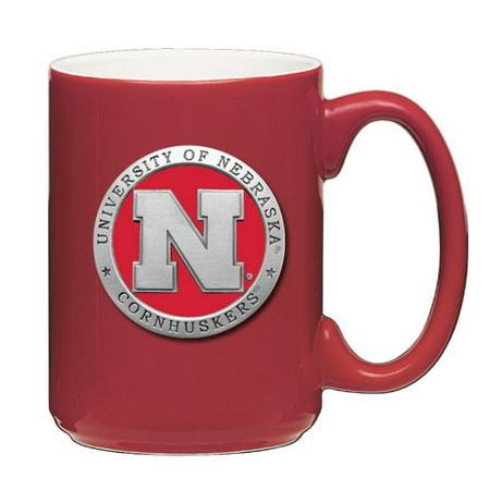 - Nebraska Cornhuskers Red Coffee Mug Set