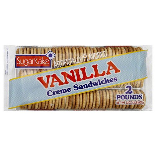 Sugar Kake Cookies Vanilla Creams, 32 oz. (Pack of 12)