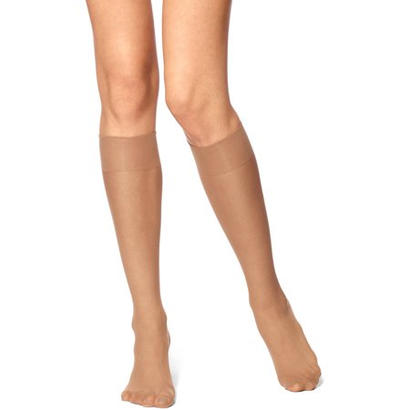 - Women's Sheer Knee Highs, 10pk