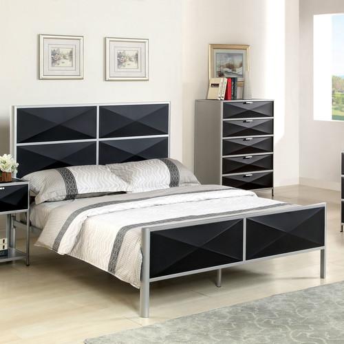 Hokku Designs Mason Upholstered Platform Bed by Enitial Lab