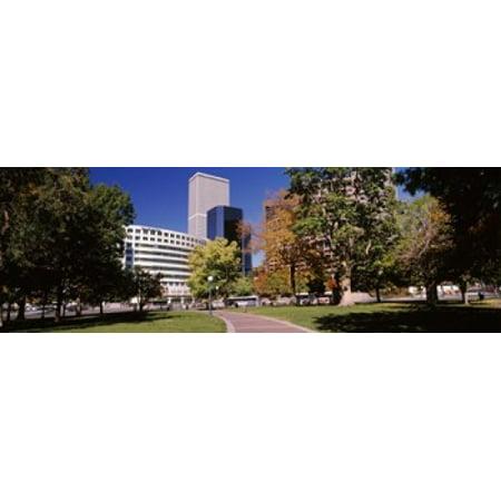 The Denver Post Building Denver Colorado Usa Poster Print