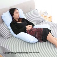 Zerone U-shaped Pregnancy Pillow Full Body Maternity Pillow Pregnancy Nursing Sleeping Support