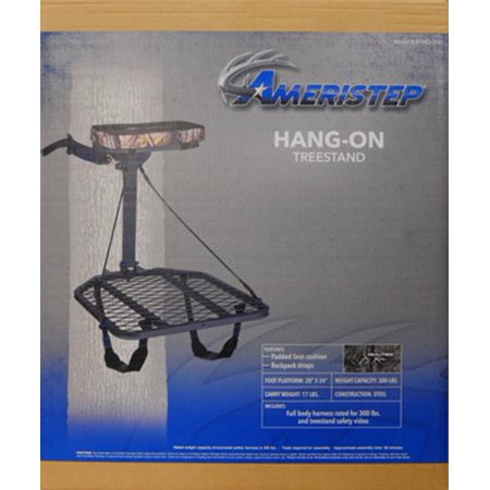Ameristep Hang-On Treestand with Realtree Seat Cushion