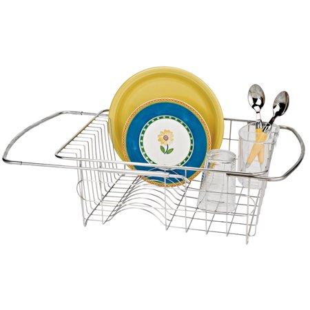Walterdrake Over The Sink Dish Rack Walmart Com