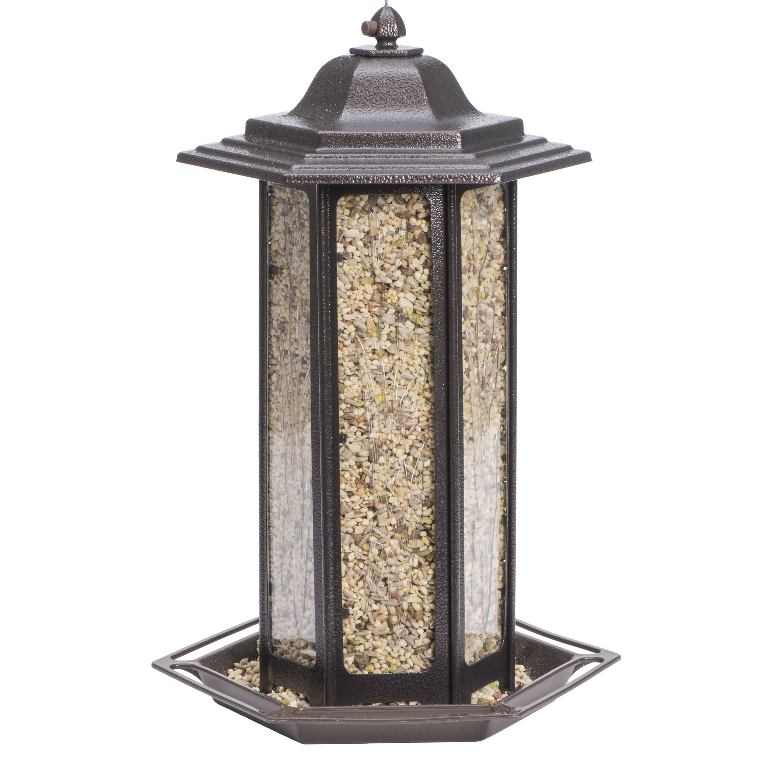 Perky-Pet 6 lb Tall Tulip Garden Lantern Bird Feeder