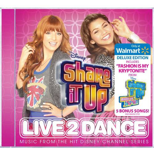 Shake It Up: Live 2 Dance Soundtrack (Walmart Exclusive)