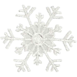 Expo Int'l Christmas Large Branch Snowflake Iron-on Applique