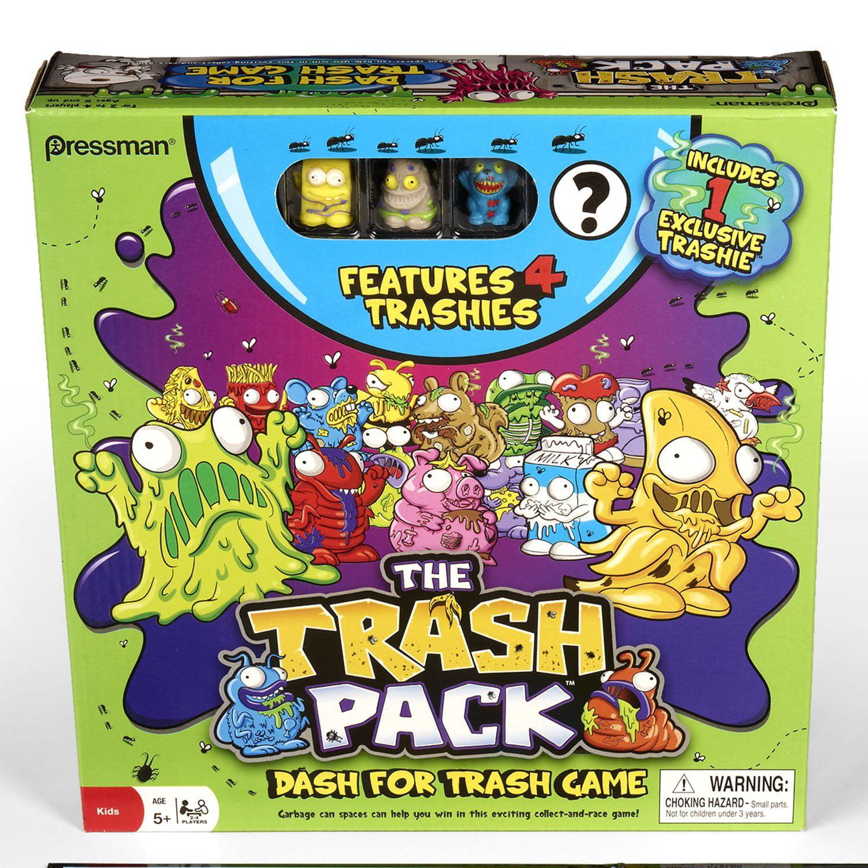 Pressman Toy Trash Pack Dash for Trash Game by Pressman Toys